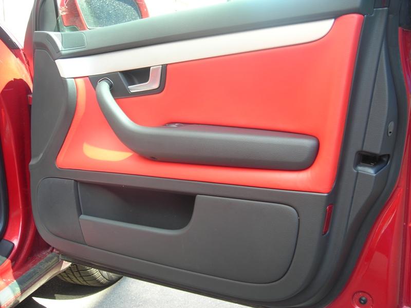 кожаный салон AUDI A4